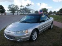 2002 Chrysler Sebring 2dr Car LXi Our Location is: