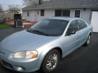 FOR SALE IS A VERY NICE 2002 CHRYSLER SEBRING IN VERY