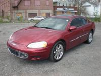 Options Included: N/A2002 CHRYSLER-SEBRING,LXI,2 DOOR