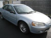 For sale is a ver nice chrysler sebring 4 door sedan