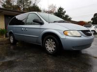 Clean CARFAX. Green 2002 Chrysler Town & Country LX FWD