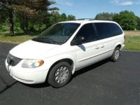 I have this 2002 Chrysler Town & Country LX Mini Van.