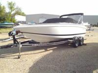 2002 Cobalt 206 Bow Rider; Includes tandem axle trailer