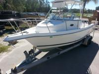 The Cobia 270 walkaround has plenty to offer for