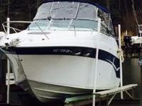 Lightly used 2002 Crownline 262CR cabin cruiser with