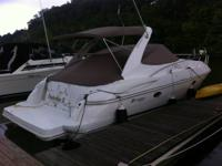 This ONE OWNER FRESH WATER Cruisers Private yacht is a