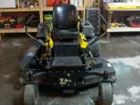 2002 Cub Cadet M-60 Tank zero turn mower with a 60 inch