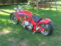 2002 Custom Built Chopper with HD EVO Engine One of a