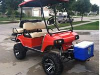 Custom Built 2002 Gas Powered Club Car Golf CartHugger