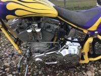 2002 Custom Chrome Nemesis Chopper . 2002 Spcns Soft