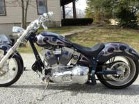 2002 Custom Motorcycle for sale. 110 motor, 6 speed