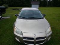 ALMOND 6-CYLINDER 2002 STRATUS IN GOOD CONDITION. IT'S