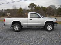 2002 Dodge Dakota Pick-up 3.9 Liter V6 Engine 4-Wheel