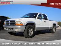 2002 Dodge Dakota Extended Cab SLT V8, *** FLORIDA