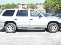 2002 Dodge Durango -- ALL PARTS AVAILABLE! MORE
