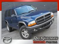 This 2002 Dodge Durango is ready to go with features