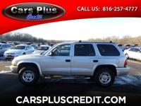 Options:  2002 Dodge Durango Slt|Visit Cars Plus Credit