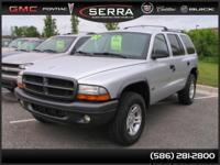 Options Included: * Cruise Control***DURANGO 4X4! LOCAL