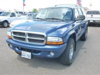2002 DODGE Durango SUV 4DR 4WD SLT Our Location is: Tom