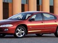 Red 2002 Dodge Intrepid SE FWD 4-Speed Automatic 2.7L