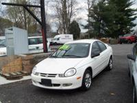 2002 Dodge Neon ES with sport package. Power windows