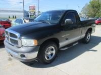 LOW MILES!! V-8. AUTO. SINGLE CAB. GRAY CLOTH. BED
