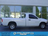 Options Included: N/A2002 DODGE Ram 1500 2dr Reg Cab