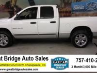 2002 Dodge Ram 1500 CARS HAVE A 150 POINT INSP, OIL