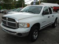 Options Included: 4 Door, Quad Cab, 4 Wheel Drive,