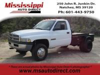 Priced below KBB Fair Purchase Price! White 2002 Dodge