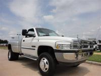 This 2002 Dodge Ram 3500 SLT LARAMIE 4x2 features a