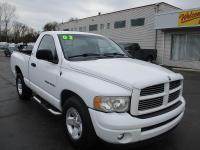 Options:  2002 Dodge Ram 1500 2Wd Reg Cab Slt|White|Air