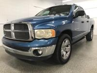 Options:  2002 Dodge Ram 1500 Slt|Blue|Odometer Is
