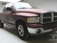 This 2002 Dodge Ram 1500 SLT Quad Cab 2WD is offered by