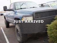 Clean CARFAX. 2002 Dodge Ram 2500 4WD 5-Speed Manual HD