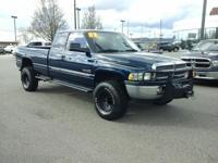 This outstanding example of a 2002 Dodge Ram 2500 is