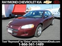 2002 Dodge Stratus Sedan SE Plus Our Location is: