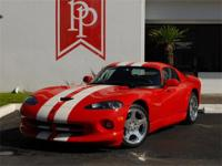 This 1-owner, very low-mile 2002 Viper GTS is number