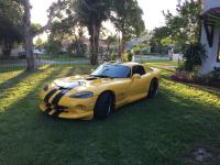 Dodge Viper GTS Yellow w/ black stripes RARE bumble