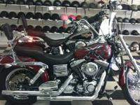 We are selling a 2002 Dyna Wide Glide it is very low