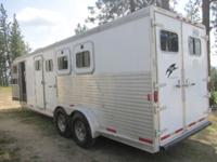 full living quarters with separate toilet and shower ,