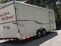 2002 Express Enclosed Car Trailer ..22 Foot