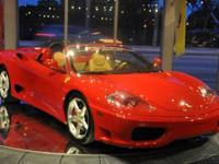 Check out this 2002 Ferrari 360 Spider finished in