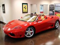 You are viewing a 2002 Ferrari 360 Spider with 33k