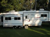 2002 Cardinal 5th Wheel RV by Forest River Model 33TS
