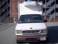 Refrigerated by Carrier with control in cab 02 Ford Box