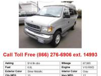 2002 Ford E-350SuperDuty XL Wagon Regular Silver