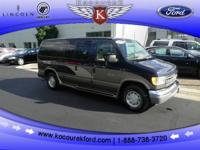Options Included: N/A4.6L V8 EFI, CONVERSION VAN!!!,