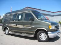 This 2002 Ford conversion van is prepared for the