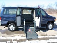 This is a beautiful Ford Econoline Wheelchair